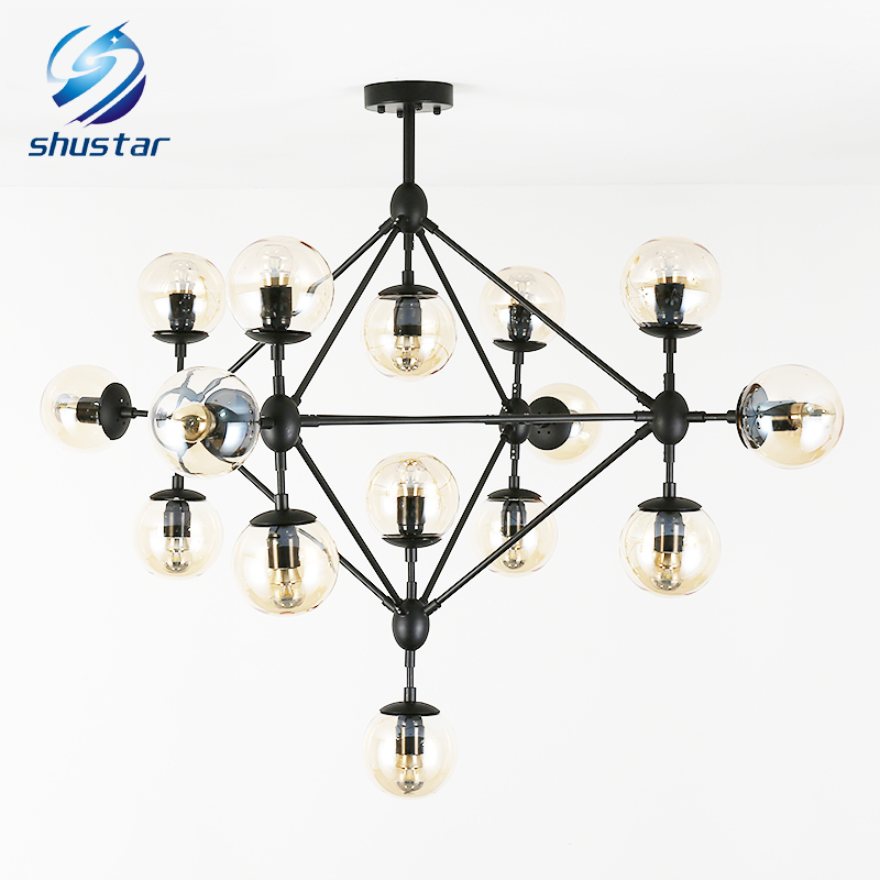 Lindsey Adelman Chandeliers lighting modern lamp novelty pendant lamp natural tree branch suspension light hotel dinning room