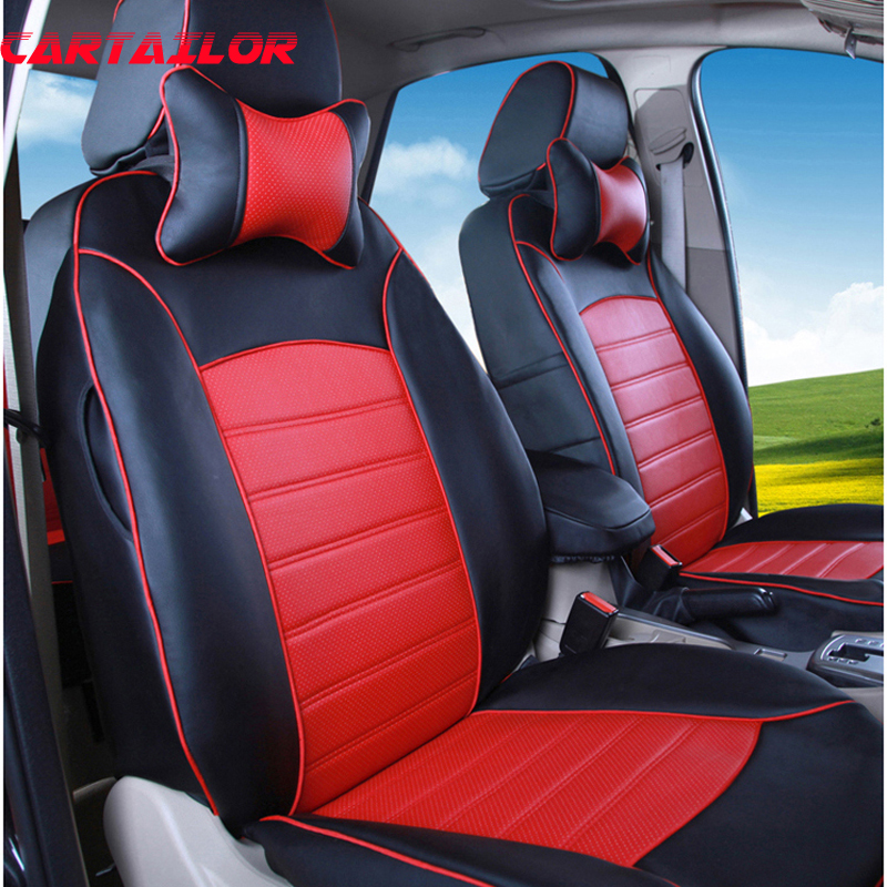 cartailor car seat cover for bmw x1 accessories for cars seats pu leather seat covers supports. Black Bedroom Furniture Sets. Home Design Ideas