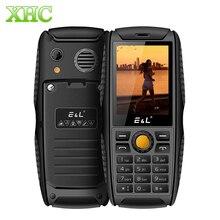 Кен xin да E & L S200 IP68 Водонепроницаемый мобильный телефон 2.4 дюймов Dual SIM SC6531D bluetooth fm двойная вспышка LED мобильный телефон