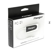 1 pc FC-21 Software Guitar Effect Converter Adapter For Bass to Smartphone Accessories цена
