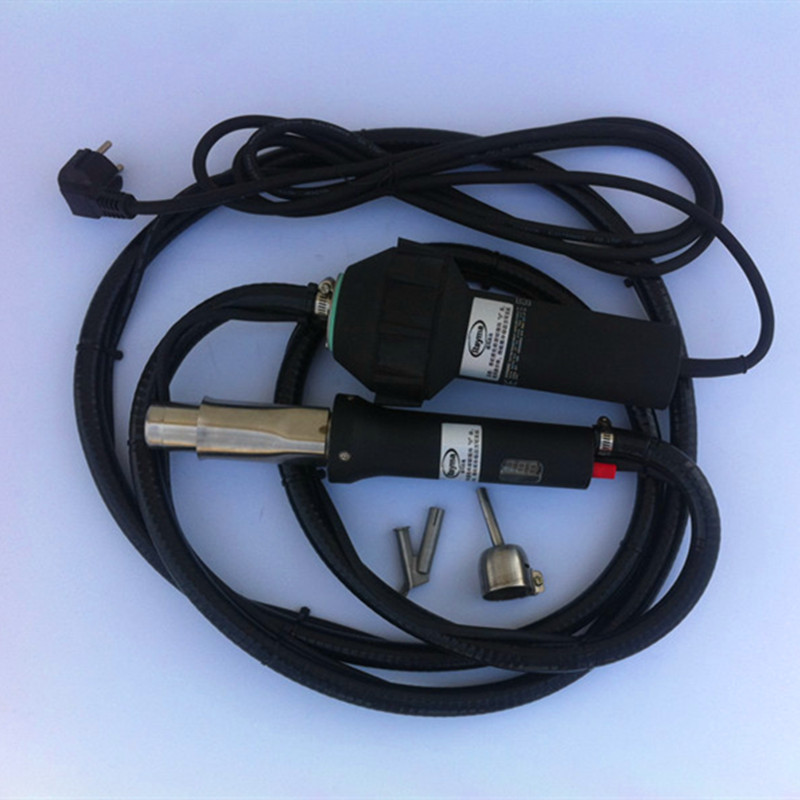 Livraison gratuite soudeuse à air chaud avec longue blastique tuyau en plastique pistolet de soudage de type Split machine de soudure de vente chaude de haute qualité!