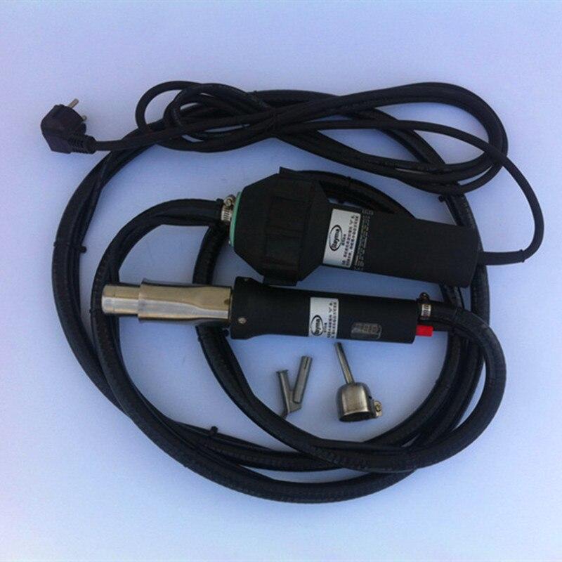 Soldador de aire caliente envío gratis con tubo blastic largo pistola de soldadura de plástico máquina de soldadura de tipo dividido ¡Gran venta de alta calidad!