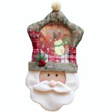 1pc Santa Claus Wall Clock Snowman Christmas Decorations For Home New Year Decoration Christmas Gift #15