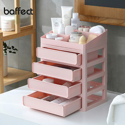 New Colorful DIY Multi-layer Plastic Makeup Drawers Storage Box Jewelry Container Make up Organizer Case Cosmetic Office Boxes