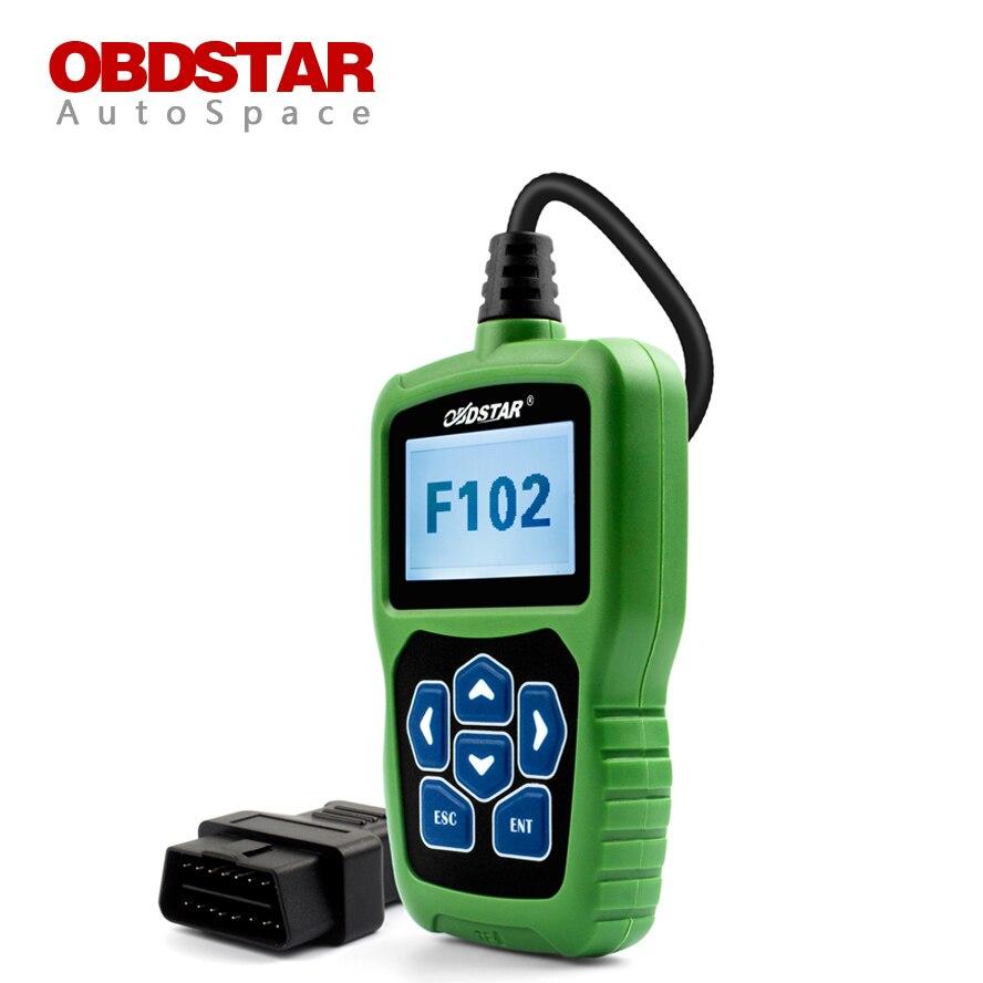 OBDSTAR F102 Car Pin Code Reader + Mileage Odometer Adjust + Auto Key Programming + Read BDM + OBD2 Scanner for Nissan Infiniti