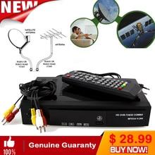 Digital DVB-T2 +S2 Combo 2 in 1 Digital Satellite Receiver Combo dvb t2 + S2 HD 1080P dvb-t2 tv Box Decoder H.264/MPEG-2/4
