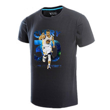 The warriors basketball team clothes James Bryant in 30 male sports training large size T-shirt with short sleeves dress made of