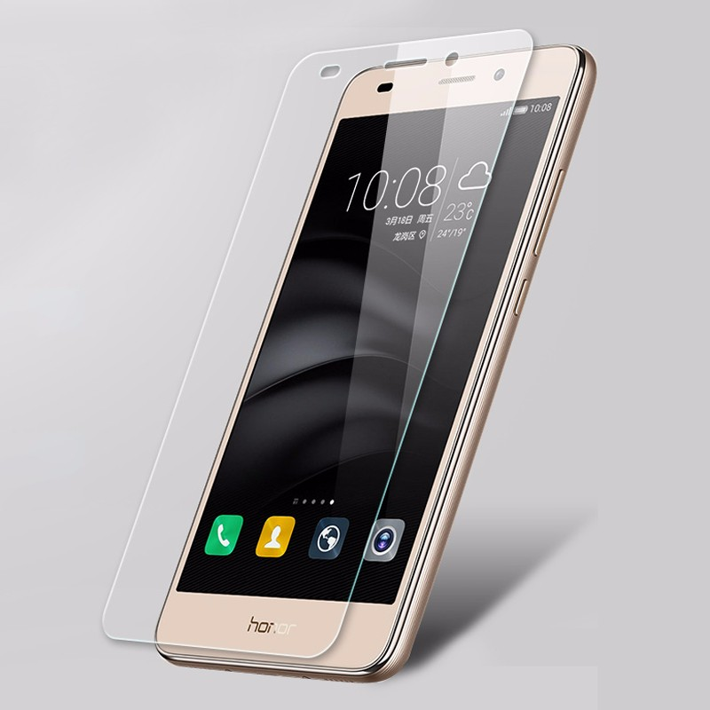 GXE Premium Tempered Glass Film For Huawei Mate 9 P9 Lite P8 P8lite Honor 8 7 6 Plus Honor 5X 5C 5A LCD Screen Protector Guard 4
