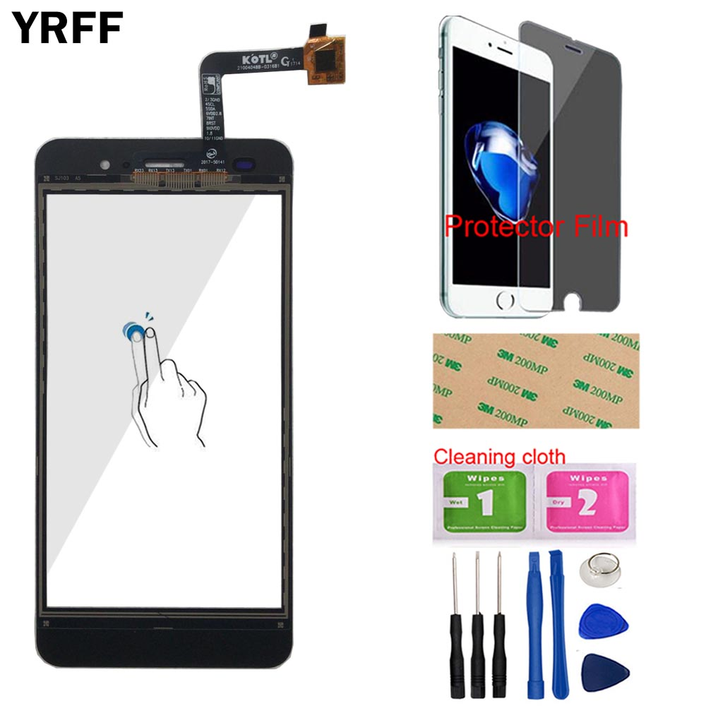 Image 2 - Touch Screen Panel For Fly Cirrus 13 FS 518 FS518 Touch Screen Touch Panel Glass Digitizer Panel Mobile Tools Protecotr Film-in Mobile Phone Touch Panel from Cellphones & Telecommunications