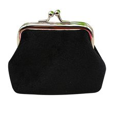 2019 New Coin Purse Womens Corduroy Small Wallet Credit Card Holder Famous brands Clutch Handbag Bag#T2(China)