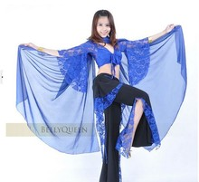 2014 Belly dancing new items Chiffon Shawl Veil Scarf multi-use 250x120cm Dance Costumes HOT SALE 10pcs/lot