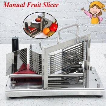 Коммерческая ручная машина для резки томатов резак для нарезки лука машина для резки овощей HT-4