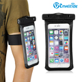 Tmalltide Universal Waterproof Dust-Proof Bag Case Underwater Pouch Cover Arm band for iPhone 6 Plus/6S Plus for Samsung