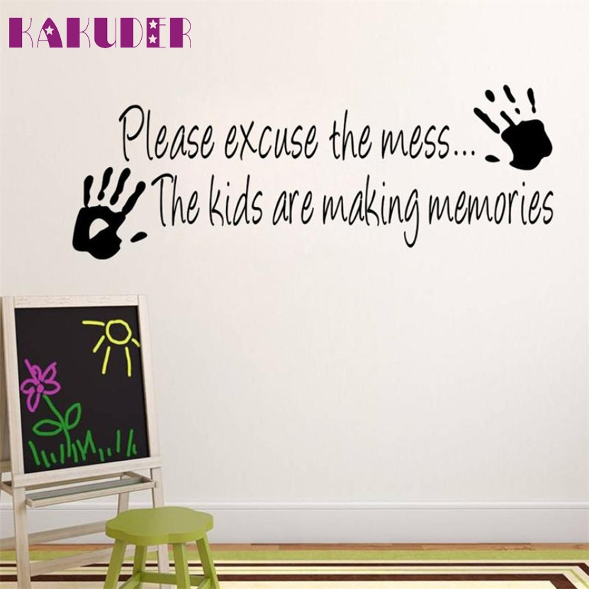 Zero Cartoon Making Memories Wall Sticker Home Decor Creative Wall Kids Room