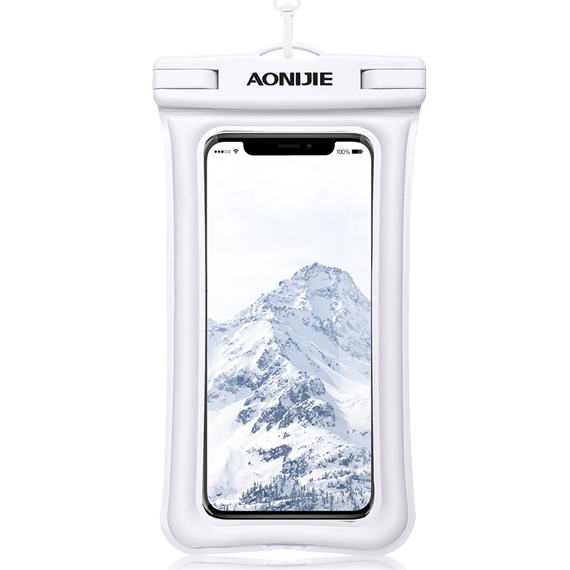 AONIJIE Mobile Phone Waterproof Pouch Floatable Phone Case Dry Bag Cover For River Trekking Swimming Beach Diving Drifting E4104