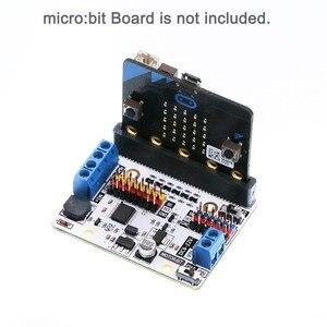 Image 2 - Bordo di Driver del motore del motore: bit Scheda di Espansione Per BBC micro: bit microbit Bordo, per Smart Auto, per I Bambini FAI DA TE Programma FZ3252