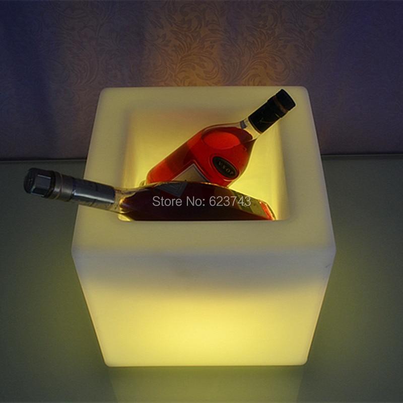 PE CUBE WINE BUCKET 3