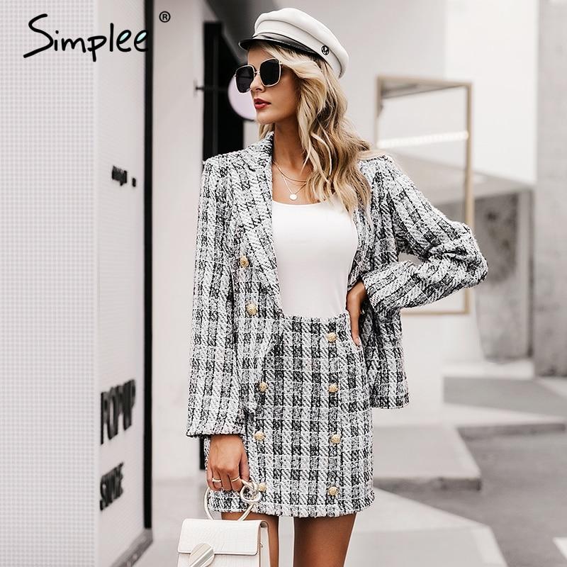 SIMPLEE Seksikas jakk