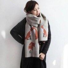 Nouvelle mode 60 cm   190 cm écharpe d hiver pour les femmes de qualité  supérieure chaude grande longue écharpe femme de luxe Pl.. 401e32d0930
