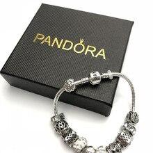 Women pandora bracelet charms silver 925 original pandora wa