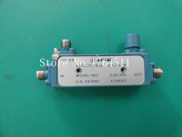 [BELLA] KRYTAR 1822 2-20GHZ -10dB RF Broadband Directional Coupler SMA