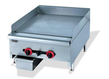 Супер качество Коммерческая нержавеющая сталь столешница плоская газовая сковорода кухонное оборудование для жарки Прямая продажа с фабр