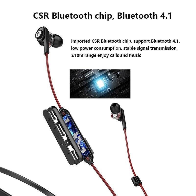 UiiSii BN60 Dual Driver Bluetooth Headphones 3