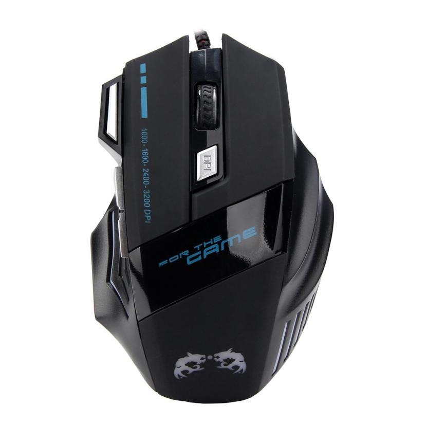 EC2 HIPERDEAL mouse senza fili del mouse interruttore pulsanti con sistema di impronte digitali pc gamer computador gamer mouse con retroilluminazione Jul6