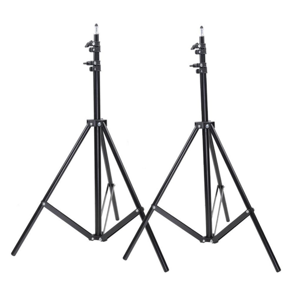 Neewer 2 Packs 9 feet/260 centimeters Photo Studio Light Stands for HTC Vive VR, Video, Portrait, and Product Photography image