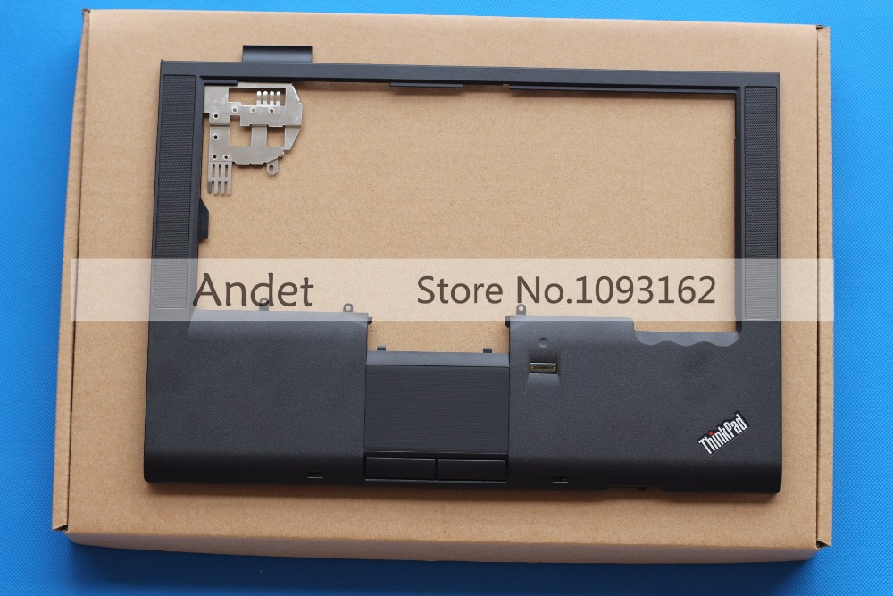 New Original Lenovo Thinkpad T410 T410i Palmrest Keyboard Bezel Upper Cover Case with Fingerprint Reader Touchpad 60Y4956 lenovo thinkpad t530 t530i w530 palmrest keyboard bezel upper case cover with touchpad fingerprint cs 04w6733 04w6821 04x4610