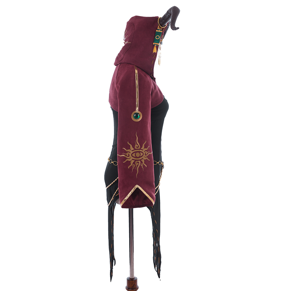 Image 3 - Game Identity V Cosplay Costume Sacrifice Fiona Gilman Cosplay Costume Halloween Christmas Party Witch Women Customized-in Game Costumes from Novelty & Special Use
