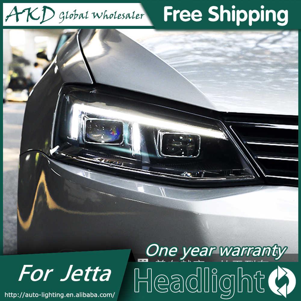 Akd Car Styling For Vw Jetta Mk6 Headlights 2012 2018 Angel