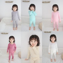 Детский пижамный комплект, одежда ярких цветов для девочек, пижамы на день рождения, Осенние пиджамы, 12 мес., 18 мес., 24 мес., 3 года, 4 года, 5 лет, 6 лет, 7 лет, 8 лет, 9 лет, 10 лет