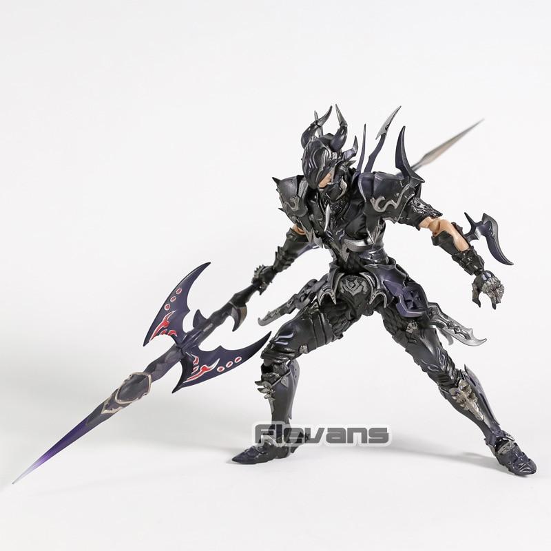 Final Fantasy XIV The Azure Dragoon ESTINIEN PVC Action Figure Collectible Model Toy