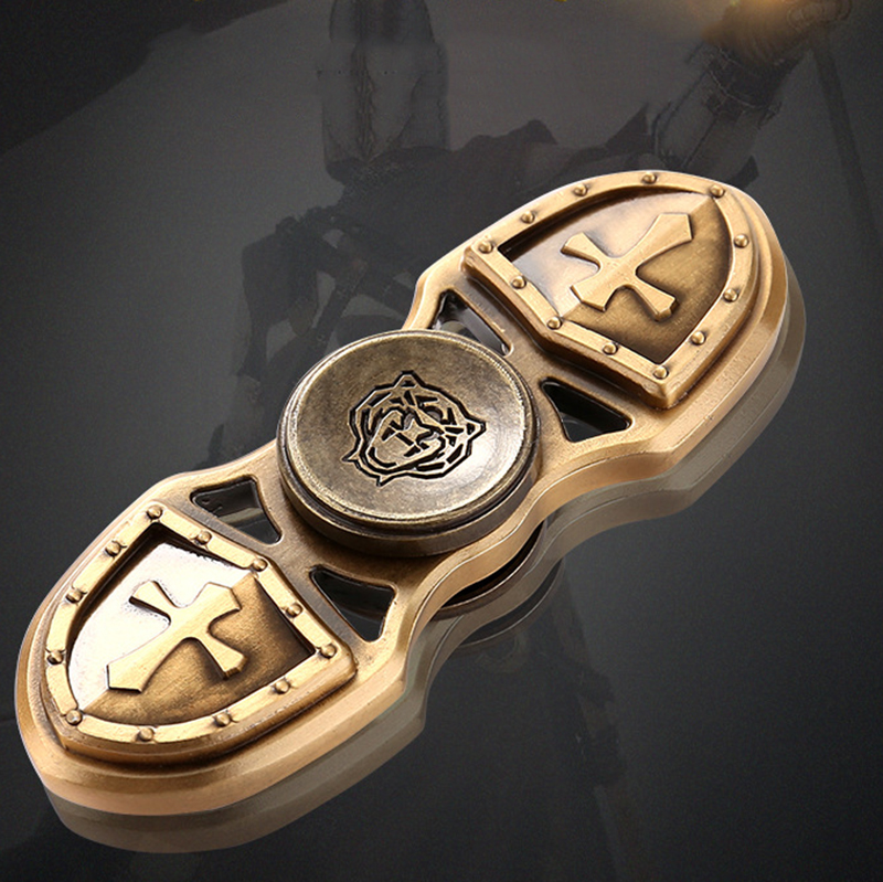 Fidget Spinner EDC Hand Spinner Custom Bearing Fidget Toys Cross Style For Tiger Crusader