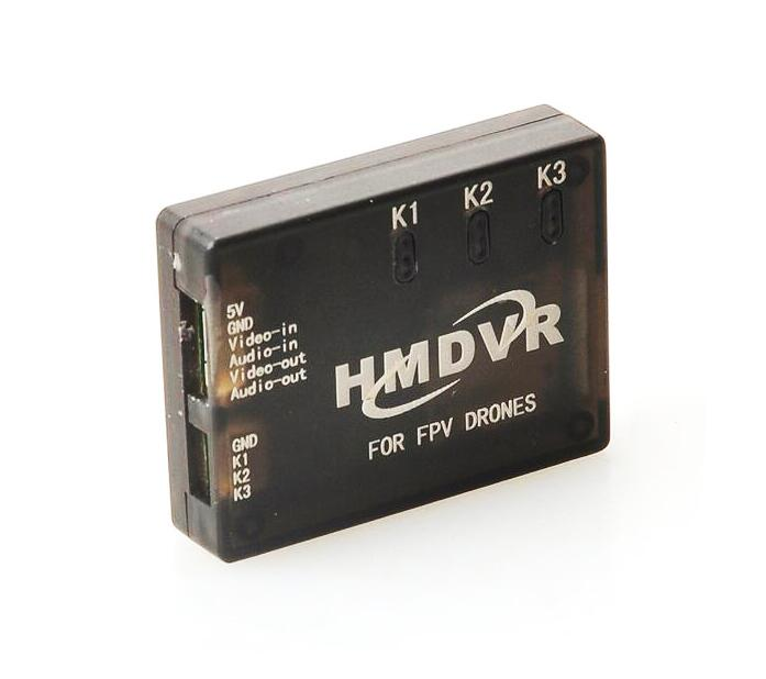 Free Shipping HMDVR Mini Digital Audio Video Recorder 30fps for FPV Drones Quadcopter QAV250 Kvadrokopter RC Drone люстра kolarz san daniele 0141 86 2