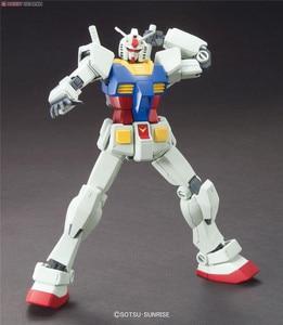 Image 3 - Bandai Gundam 96716 HGUC 191 1/144 RX 78 2 Mobile Suit assemblare kit modello Action Figures modello in plastica