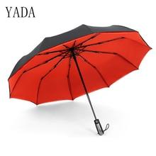 YADA High Quality Brand Umbrella Rain Women Automatic Sunny And Rainy Car For Womens Windproof Folding Umbrellas YS028