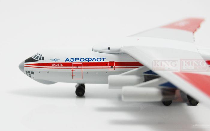 WT4I76019 Witty Russian aviation RA-76478 1:400 IL-76 commercial jetliners plane model hobby phoenix 11160 russian aviation vp bas 1 400 b777 200er commercial jetliners plane model hobby