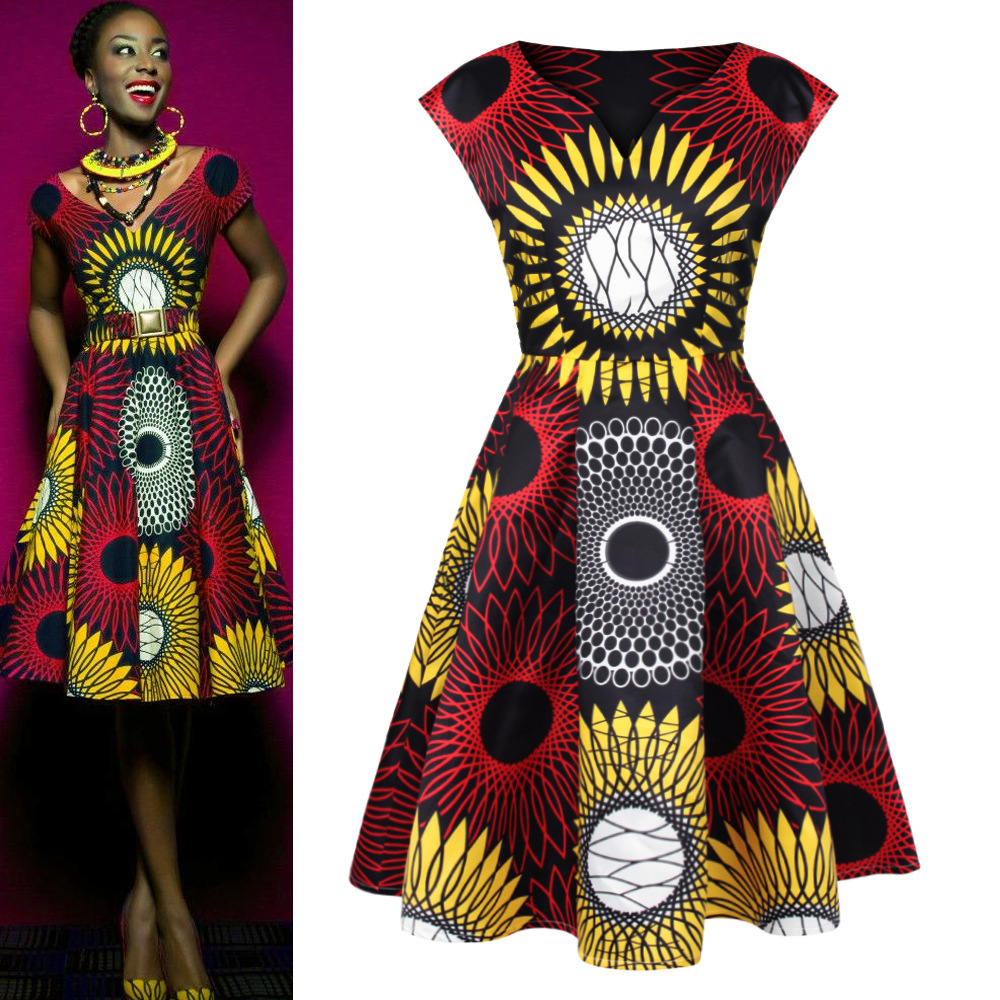 African Print Fashion: Online Buy Wholesale African Dresses For Women From China