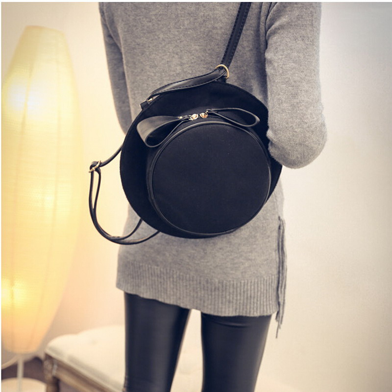 Unique Hat Shape Women Nylon Crossbody Bag Handbags Sling Shoulder Bags Creative Personality Lady Messenger Cross Body Bow In From