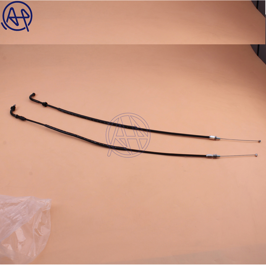Fit For Honda CBR600RR CBR600 03-06//CBR1000RR CBR1000 04-07 Throttle Cable wires