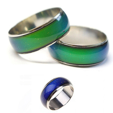 2017 New Arrival Women Men Emotion Feeling Changing Color Mood Temperature Couple Ring Jewelry