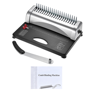 Image 5 - A4 กระดาษเครื่อง Puncher Binder 21 หลุมเครื่อง 12 แผ่น Punching 450 แผ่น Binding Office Home เครื่องมือ A5 a6 7