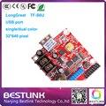 TF-S6U сид платы контроллера питания Longgreat 32*640 пикселей USB порт платы управления single/dual цвет usb-порт для наружных светодиодных знак