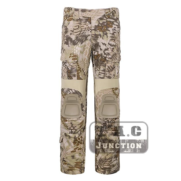 Tactical Emerson BDU G2 Combat Pants Emersongear CP Style Battlefield Trousers Assault Uniform w/ Knee Pads Highlander цена 2017