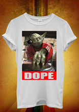 Star Wars Yoda DJ Jedi Master Funny Men Women Unisex T Shirt  Vest 21 Free shipping Harajuku Tops Fashion Classic Unique