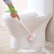 JiangChaoBo Bathroom Long Sponge Wipe Brush Wall Cleaning Brush Bath Sponge Bricks Tile Brush Sponge Block sponge brush head black