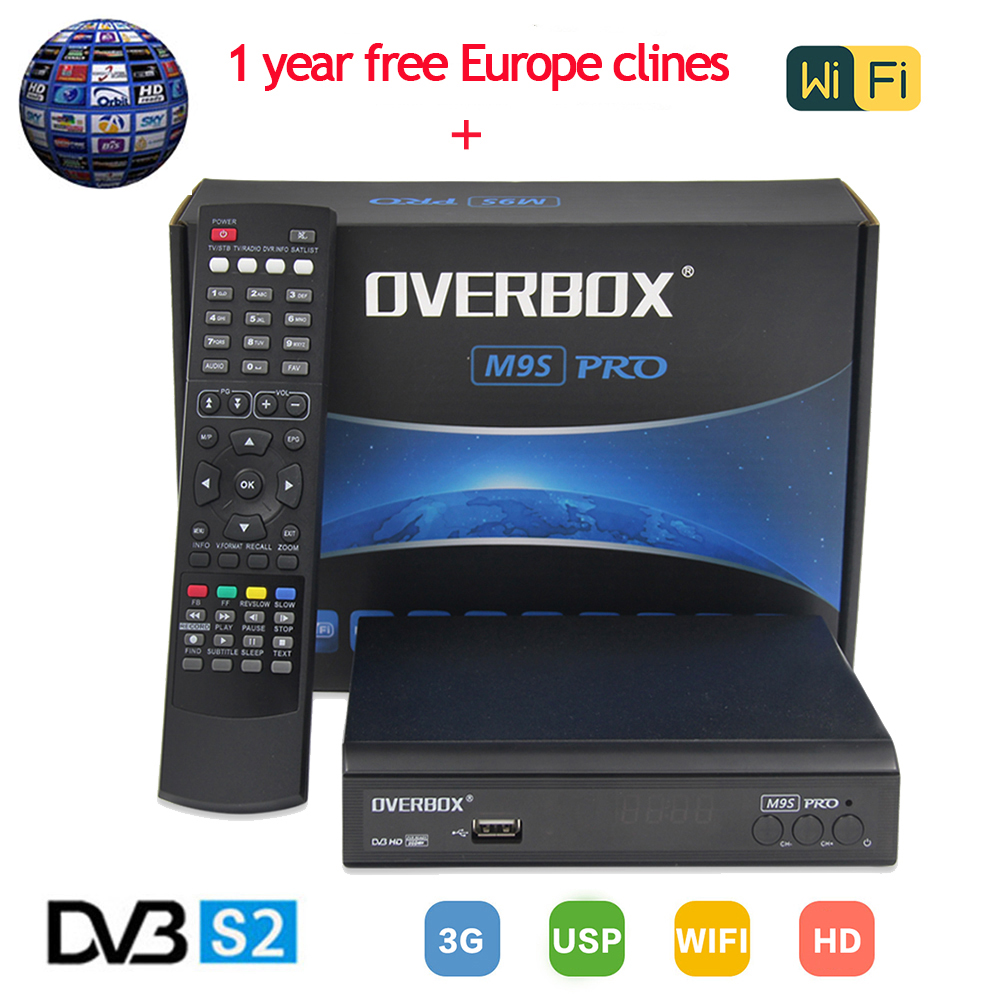 M9S PRO Satellite Receiver DVB S2 Support 1080p Full HD 3G IPTV MPEG-5+one year Europe Clines Server powervu Youporn PK V8 Super server hard drive am302a 146g 15k sas 2 5 rx6600 rx3600 rx2660 one year warranty
