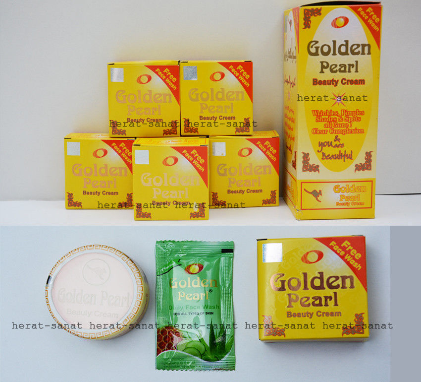Golden Pearl Whitening Beauty Cream Remove Pimples,Wrinkles,marks Free Shipping